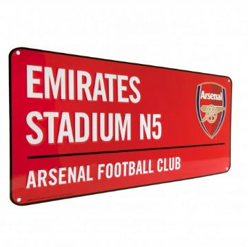 Arsenal Emirates Stadium Street Sign RD